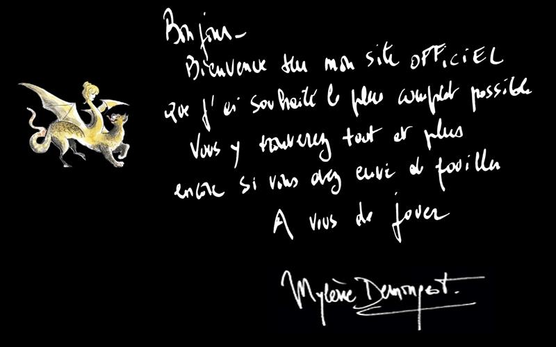 Bienvenue sur le site officiel de Mylène Demongeot